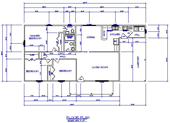 101 info online drafting school drawing a floor plan in. Black Bedroom Furniture Sets. Home Design Ideas