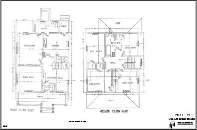 Historic Queen Anne House Plan from the 1884. - Cottage House
