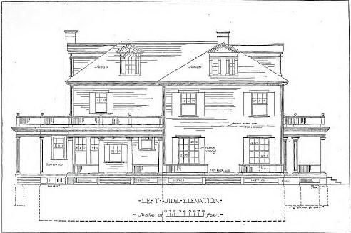 Vintage house plans 101 examples downloadable vintage for 19th century floor plans